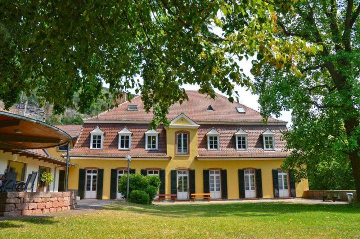Das Bild zeigt das Gebäude des Pfalzmuseums