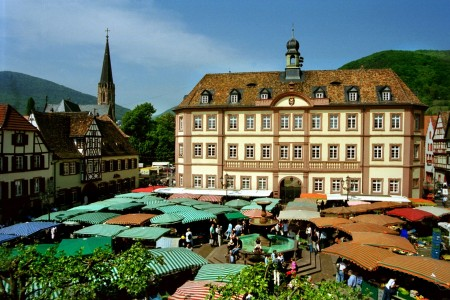 Stadt_Neustadt3_Historischer Marktplatz in Neustadt an der WeinstraßeRolf Schädler
