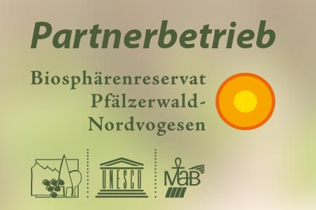 Partnerbetrieb des Naturpark Pfälzerwald
