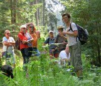Mit den Biosphären-Guides unterwegs