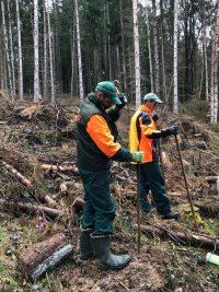Laubbaumpflanzungen in sieben Gemeinden des Biosphärenreservats