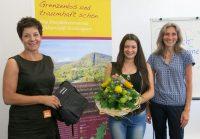 Erste Umweltpraktikantin im Biosphärenreservat Pfälzerwald-Nordvogesen
