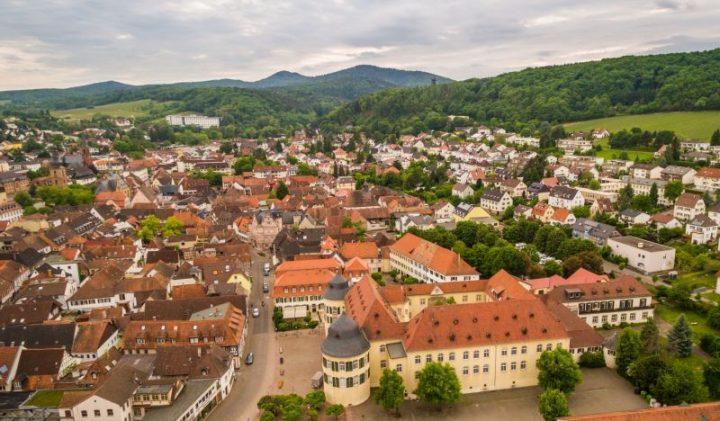 Blick auf die Stadt Bad Bergzabern (Foto: Dominik Ketz)