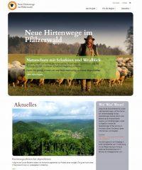Neue Hirtenwege im Pfälzerwald online